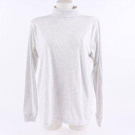 Dámské tričko - rolák bílé