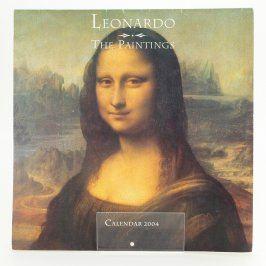 Kalendář s obrazy Leonarda Da Vinciho