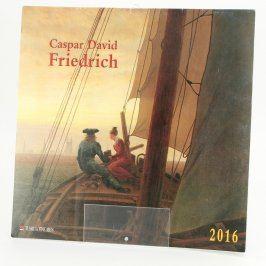 Kalendář Caspar David Friedrich 2016