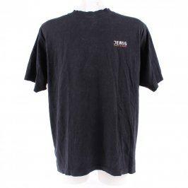 Pánské tričko William & Delvin černé