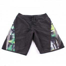 Pánské šortky O´Neill černé barevné detaily