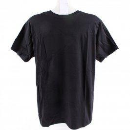 Pánské černé tričko Gildan Softstyle