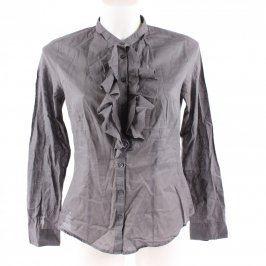 Dámská elegantní košile H&M odstín šedé