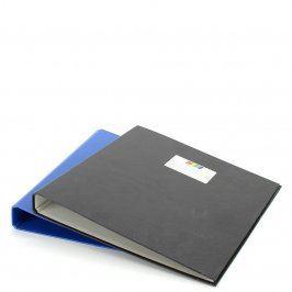 Šanon černé a modré barvy