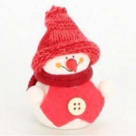 Vánoční dekorace sněhulák