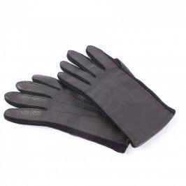 Dámské prstové rukavice šedé zateplené