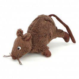 Plyšová hračka hnědá myška