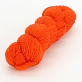 Příze na pletení oranžová