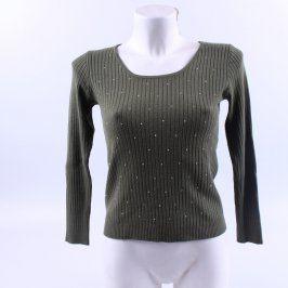 Dámský svetr Cutiane zelený