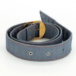 Dámský pásek džínový modrý