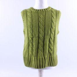 Dětská vesta Pocopiano zelená