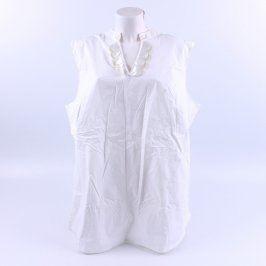 Dámská košile bez rukávu Dress in bílá