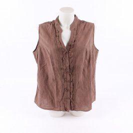 Dámská halenka Baty fashion odstín hnědé