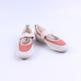 Dámská obuv Gino Ventori bílo růžové