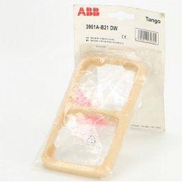 Dvojrámeček ABB Tango 3901A-B21 DW