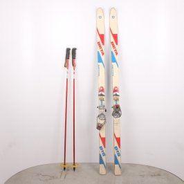 Sjezdové lyže Artis Beta 615 s holemi