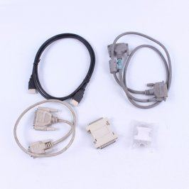 Sada kabelů - HDMI, LPT, spojka a redukce
