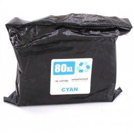 Inkoustová cartridge 80 XL Cyan