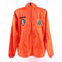 Pánská sportovní bunda Joma oranžová