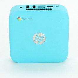 Mini PC HP ChromeBox CB1-016 světle modrý