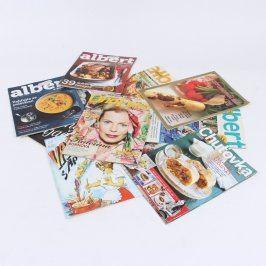 Sbírka časopisů o vaření více kusů