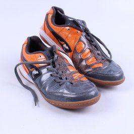 Sportovní boty KangaROOS černo-oranžové