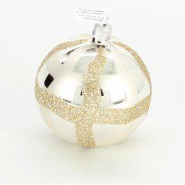 Vánoční ozdoba skleněná koule