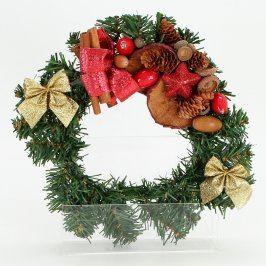 Dekorace vánoční věnec na dveře