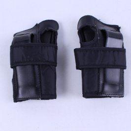 Chrániče na zápěstí černé barvy