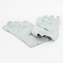 Pracovní semišové rukavice světle modré