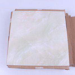 Keramické dlaždice mramorové žíhání 6 ks