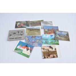 Sada pohlednic - Česká krajina, 10 kusů