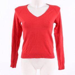 Dámský svetr ZARA červený