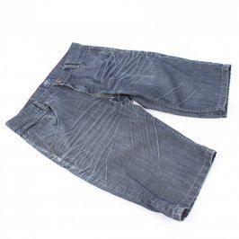 Pánské riflové šortky SMG Platinum šedé