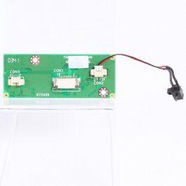 Ovládací panel touchpadu E72435