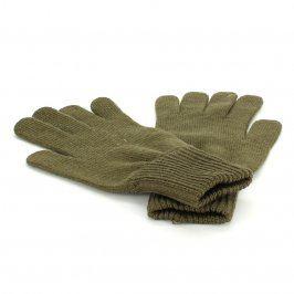 Prstové pánské rukavice khaki