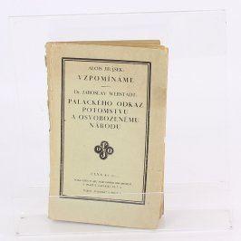 Kniha Vzpominámé-Palackého odkaz potomstvu