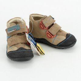 Dětské boty kotníkové Richter Style hnědé