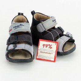 Dětské kotníkové sandále Superfit modré