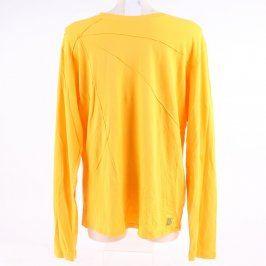 Pánské tričko Skunkfunk sytě žluté