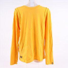 Pánské tričko Skunkfunk odstín žluté