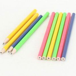 Tužky barevné s černou tuhou
