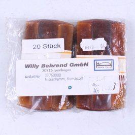 Hřebeny do vlasů Willy Behrend 20 kusů