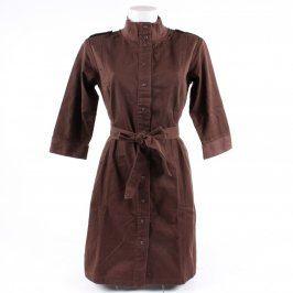 Dámské šaty Supreme Being propínací hnedé