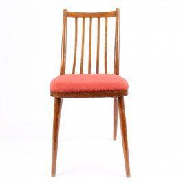 Polstrovaná dřevěná jídelní židle