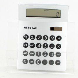 Kalkulačka Netgear 11 x 15 x 2 cm stříbrná