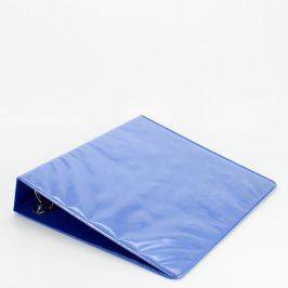Kroužkový pořadač modré barvy se 4 kroužky