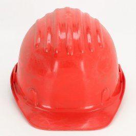 Ochranná pracovní přilba červená