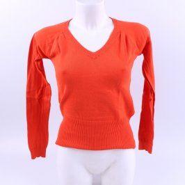 Dámský pulovr Mango odstín červené