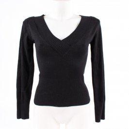 Dámský pulovr Orsay černý do véčka